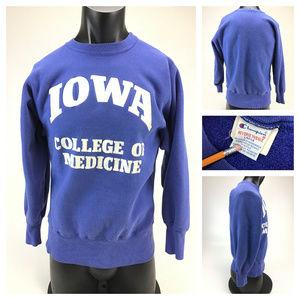 Champion Reverse Weave Iowa sweatshirt USA Large